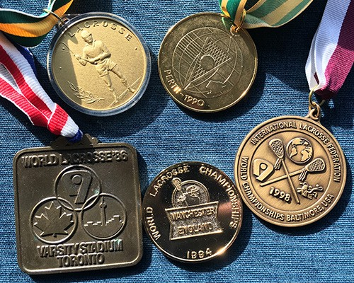World Championship Medals 1986, 1990, '94, '98