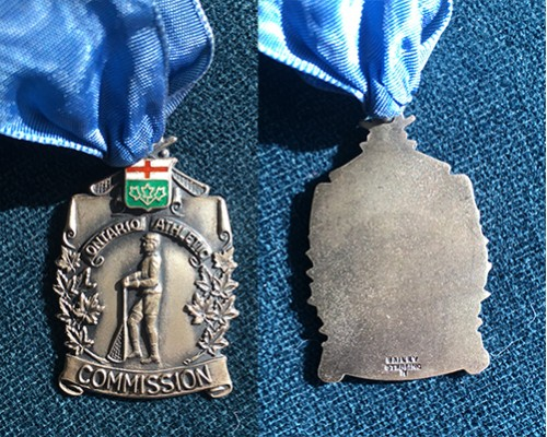 Ontario Athletic Commission Medal